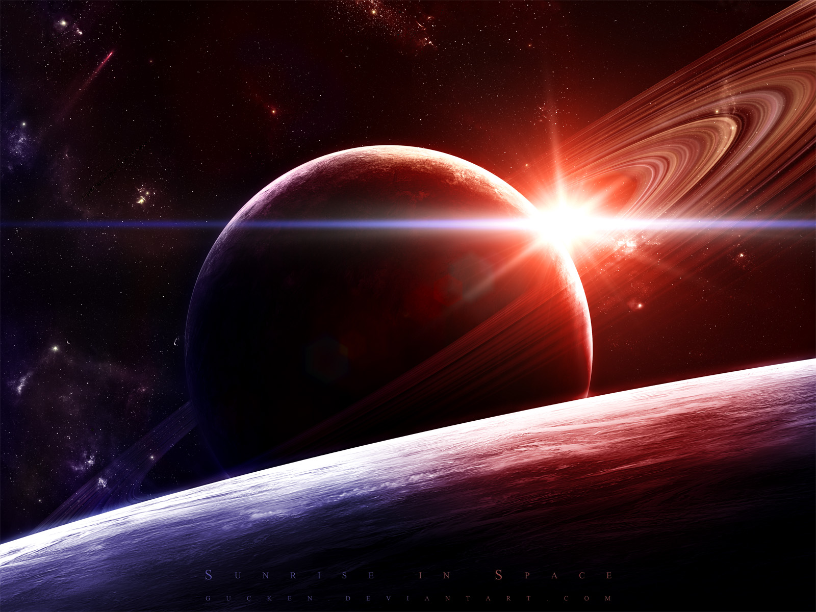 Real Space Planets - Pics about space