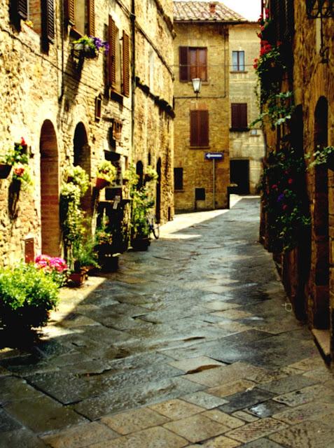 ruas de Pienza