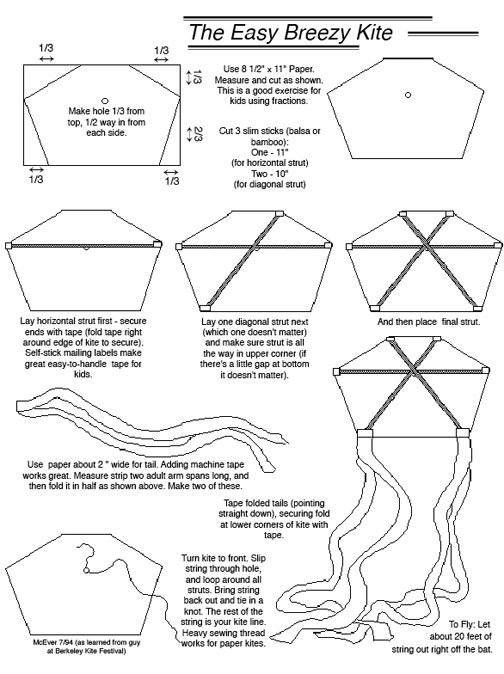 Stuff You Can\u0027t Have Death Kites - kite template