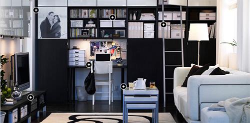 Ideias de decora o ikea como decorar sala de estar for Sala de estar ikea