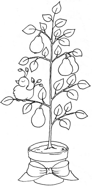 Beccy's Place: Partridge in a Pear Tree