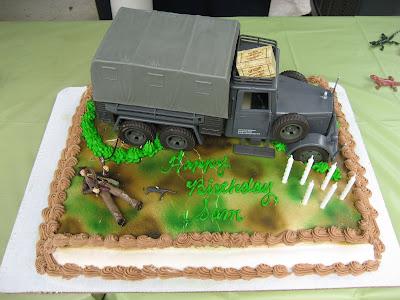 Army Ice Cream Cake Cake And Ice Cream Thing