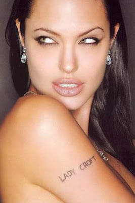 angelina jolie tattoo hip