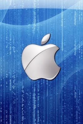 Apple Blue Logo