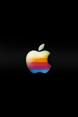Apple Company Retro Logo