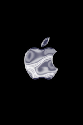Apple Company Silver Logo