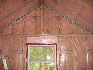 The Quiet House Interior Vapor Barrier