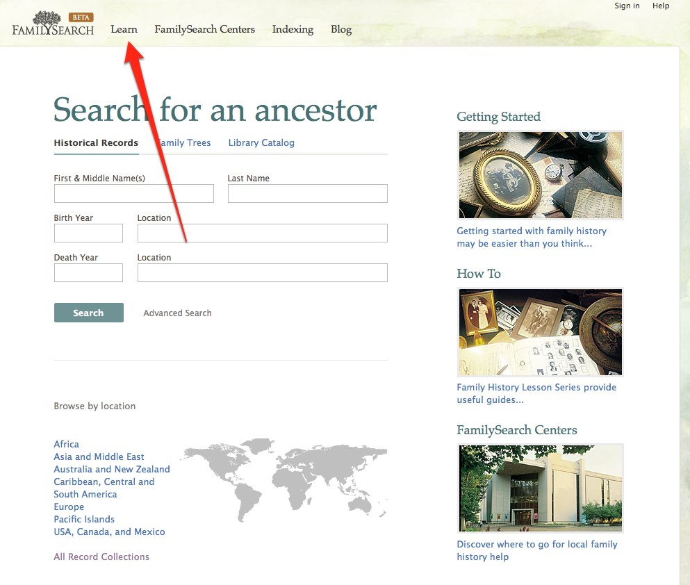 Genealogy's Star: 5 5 million page views of the FamilySearch