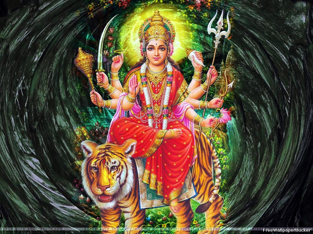 Maa Durga.10 God Bless Happy New Year Graphics Comments 2014