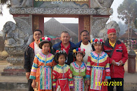 Man Fighter, Ghazi, Dato Hj. Isa and the Hill Tribe Children