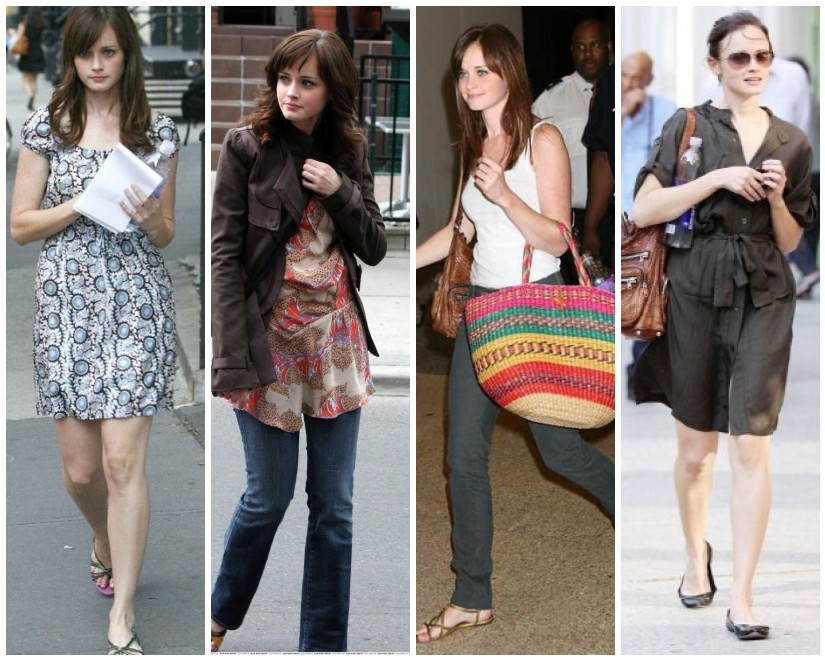My Fashion: Alexis Bledel Casual Style