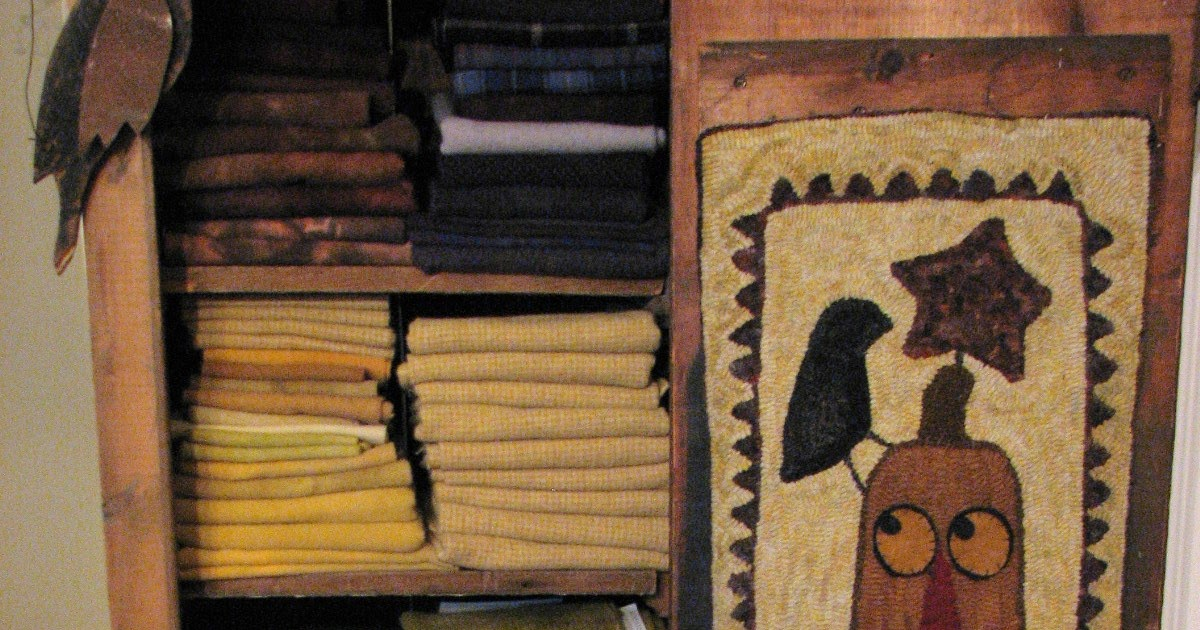 The Old Tattered Flag Stone House Woolens And Carols Rug