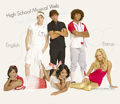 Los personajes de High School Musical!