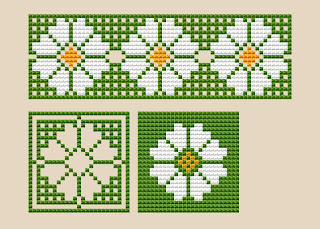 Free Cross Stitch Patterns: Fruit and Floral Designs