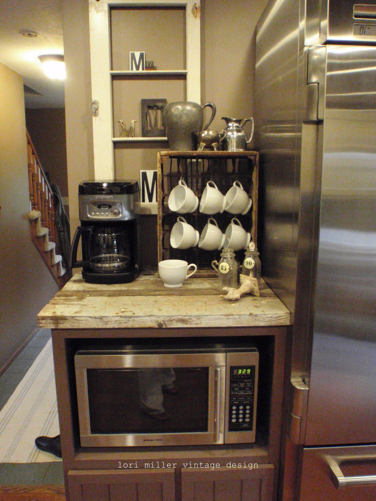 Coffee Bar Kitchen: Lori Miller's Round Barn Potting Company: Kitchen Re