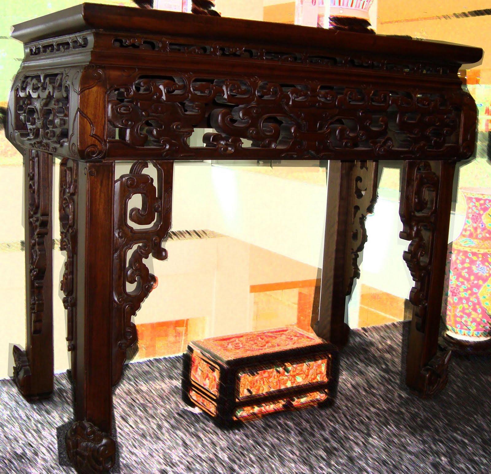 Oriental Arts: Peranakan Furnitures