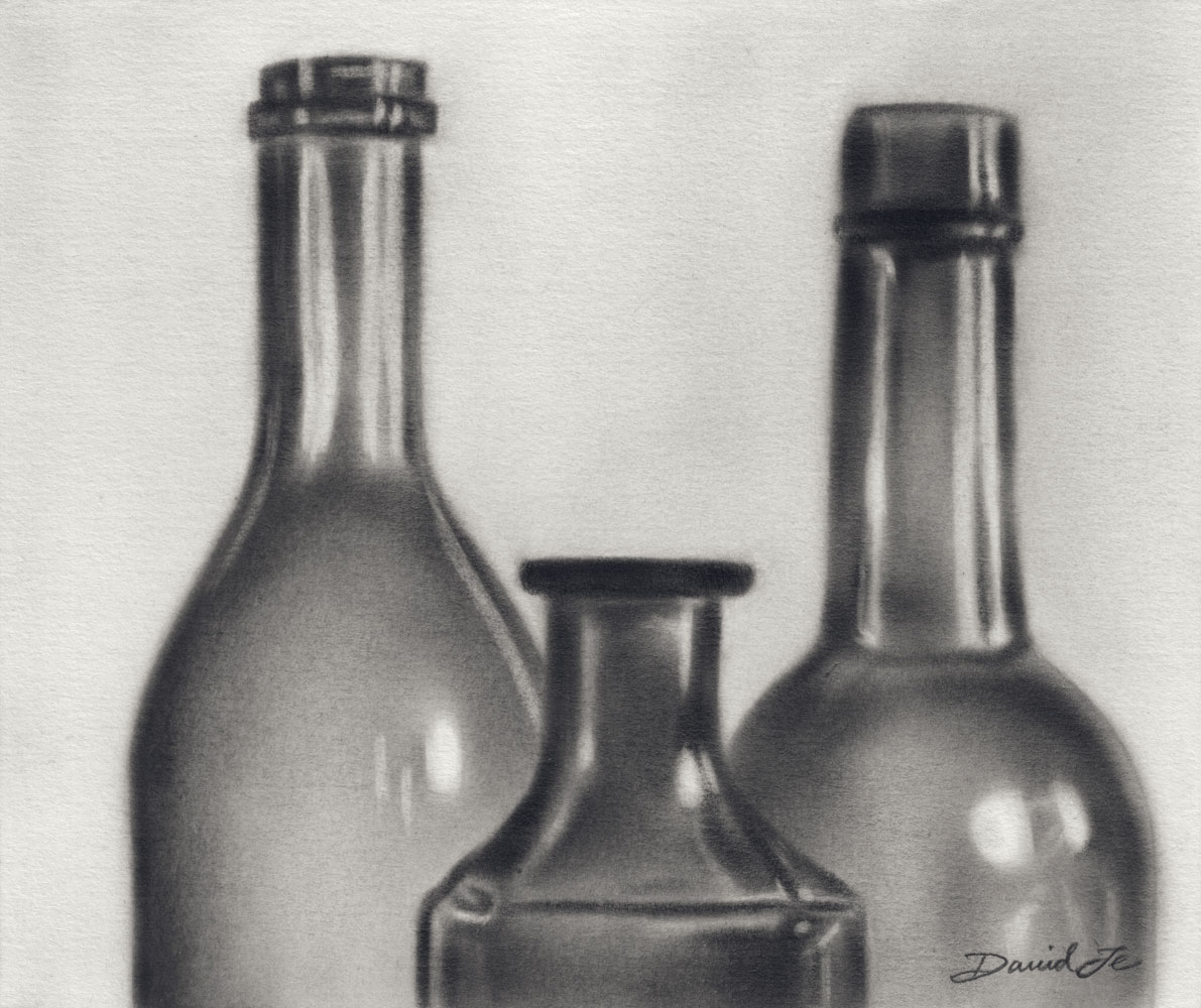This is a photo of Impertinent Drawing Of Bottle