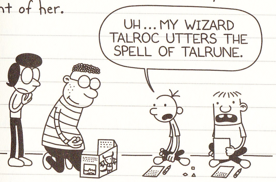 Magick and Monsters | Diary of a Wimpy Kid Wiki | Fandom