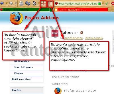 Firefox Eklentileri ve Yüksek Verim Alma Yolları Taboo