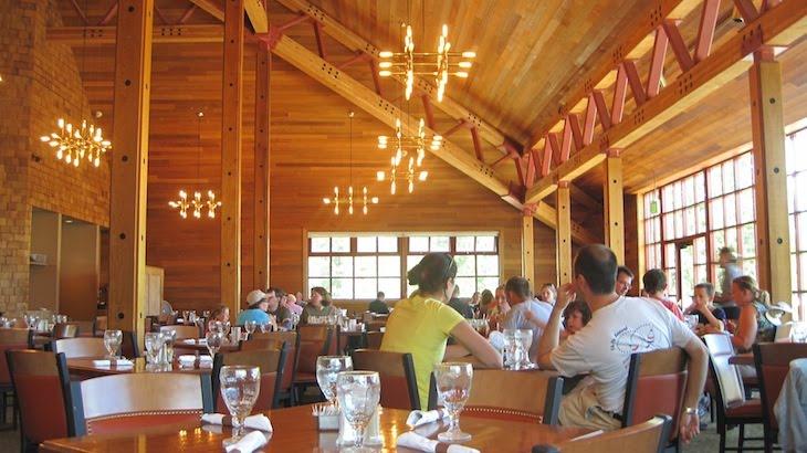 Yellowstone  Grant Village Dining Hall  Professor Crunchy