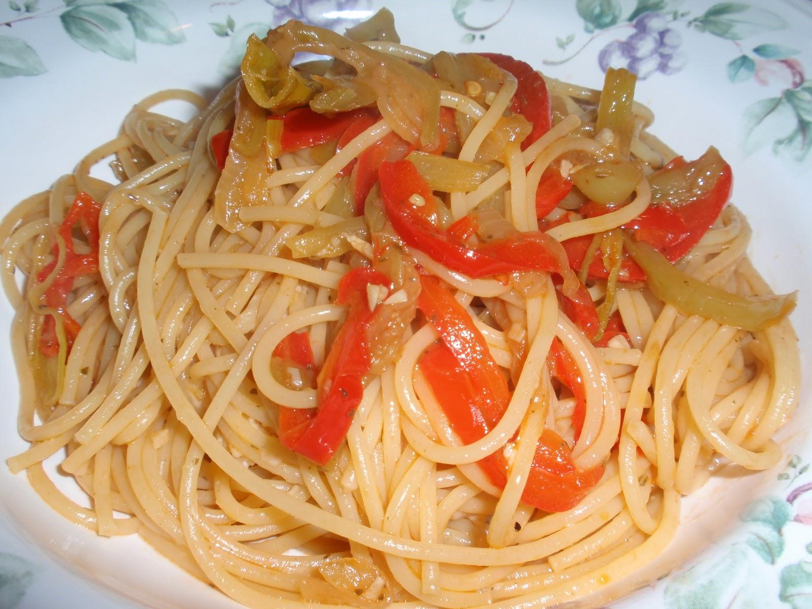 Spicy Italian Sausage Pasta ~ Simple Sweet Recipes  |Spicy Italian Spaghetti