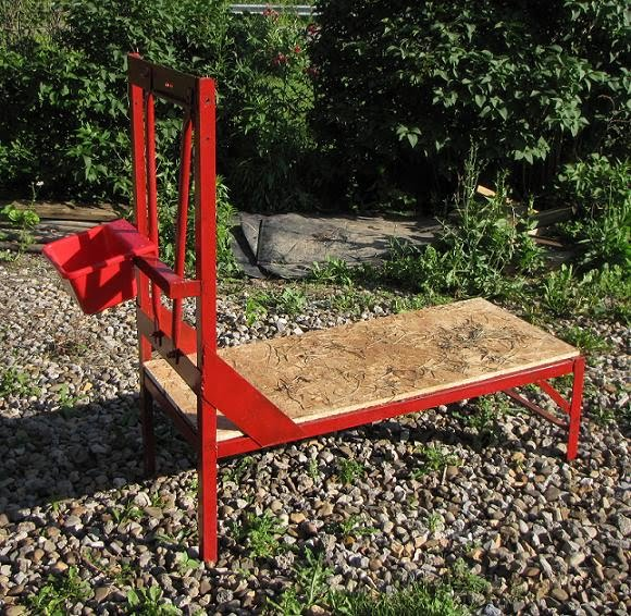 Simple Work Wood Goat Milking Stand Plans