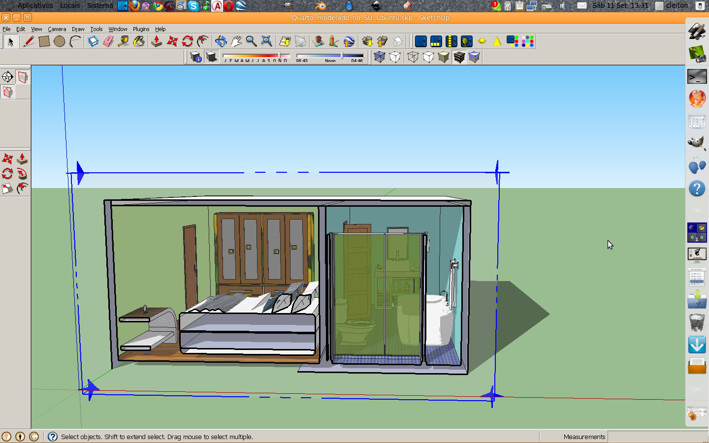 Modelado No Sketchup Via Wine