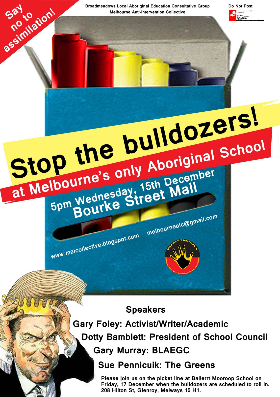 The Network: Stop the bulldozers at Melbourne's only