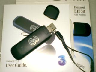Modem Huawei E1550. Modem pemberian DiGi lebih cantik, dengan logo dan hiasan khas DiGi Broadband. Namun, modem ini agak besar saiznya, kata Husna. Terima kasih http://johnytim.blogspot.com/.