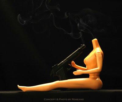 Barbie Suicide, smoking gun