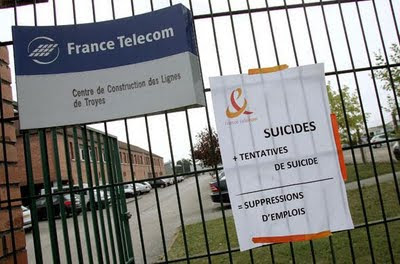 Suicides - Tentatives de Suicide - Suppressions d'emplois
