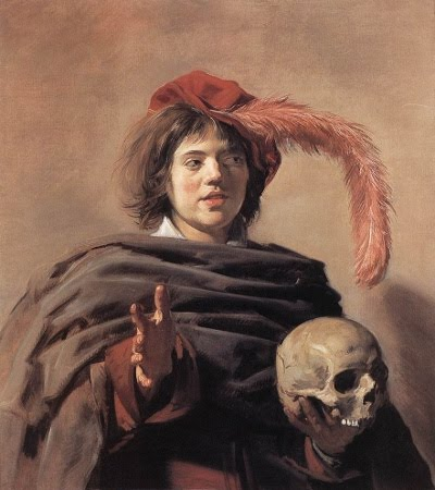 Frans Hals: Young Man with a Skull