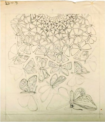 Butterflies, M.C. Escher 1950