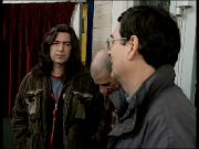 Con Alfredo y Enrique de Barricada