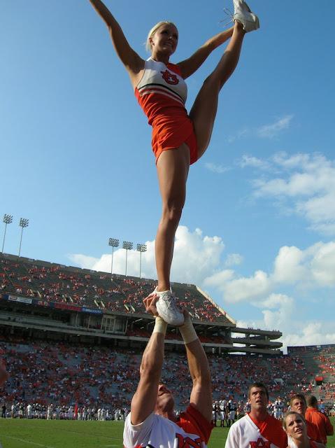Georgia State College >> drakesdrumuk: Auburn Cheerleaders