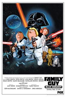 Padre de familia la guerra de las galaxias