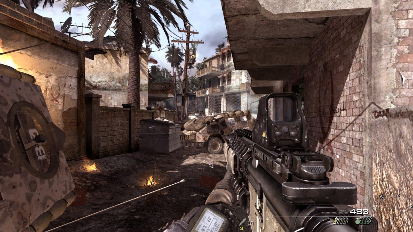 Call of duty modern warfare 3 essay