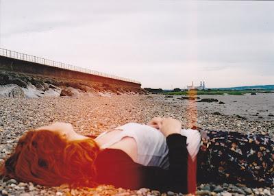 faye on beach