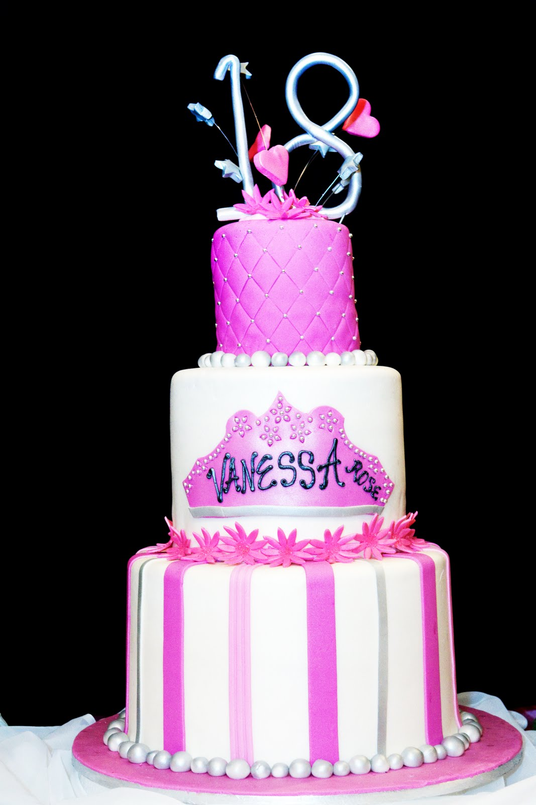 Jocelyn S Wedding Cakes And More Debut Cake Vanessa