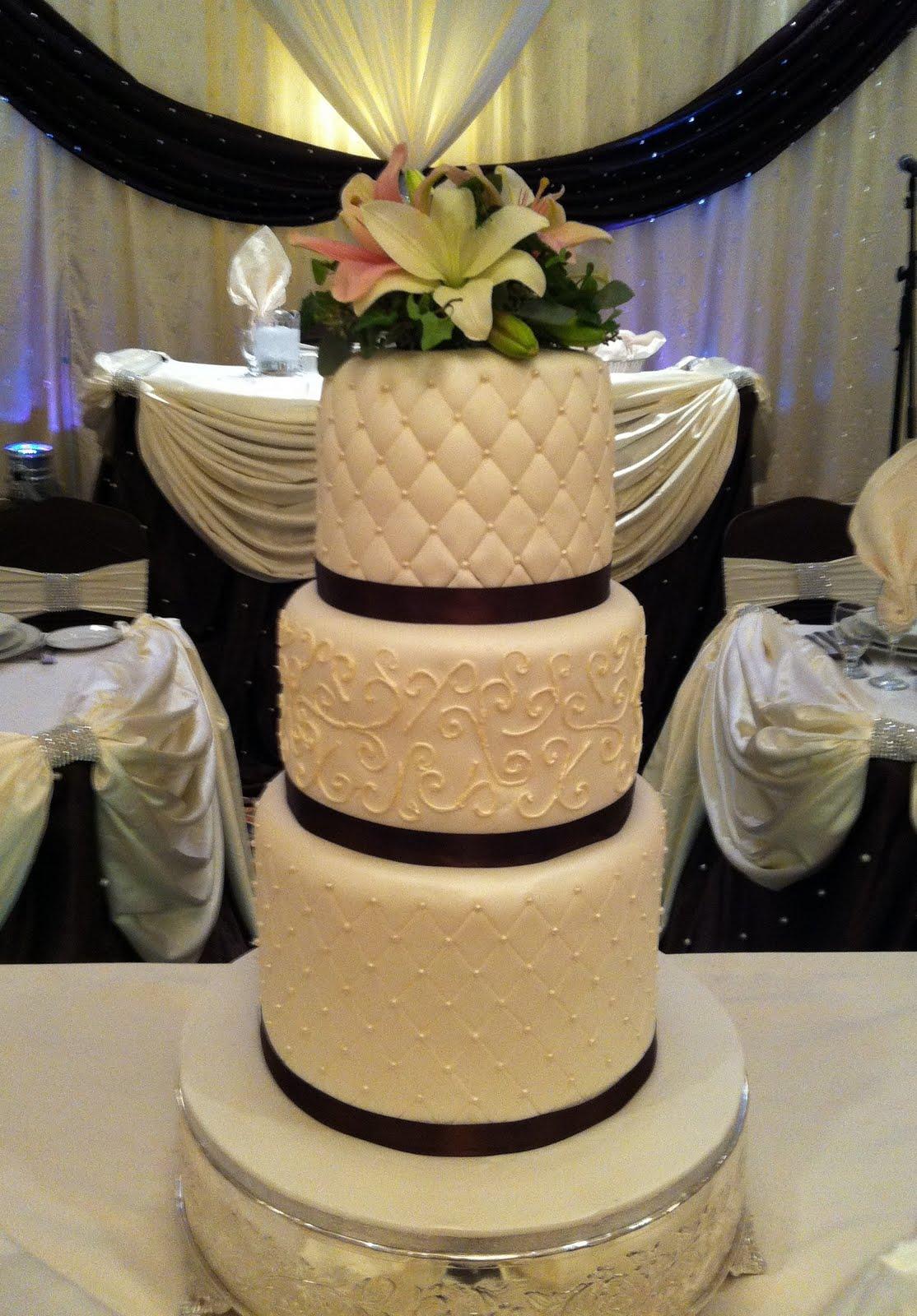 Ube Wedding Cake Toronto