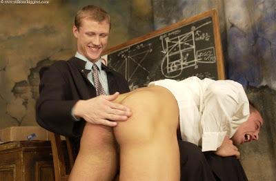 Gay teacher spanks boys a well deserved spank and suck