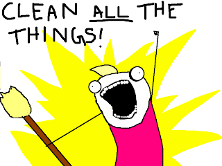 Image result for clean all the things