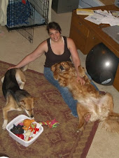 Me and the Dogs in the foyer