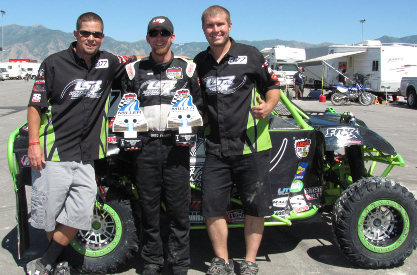 LSR SR1 Off Road Race Team Takes First and Second in Utah
