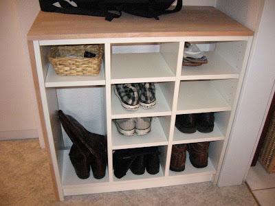 billy als schuhregal katrins crib. Black Bedroom Furniture Sets. Home Design Ideas