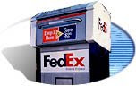 FedEx Drop off box