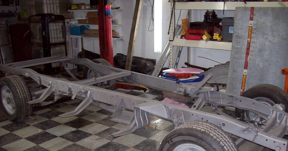 1954 chevy pickup frame off restoration blog frame is back. Black Bedroom Furniture Sets. Home Design Ideas