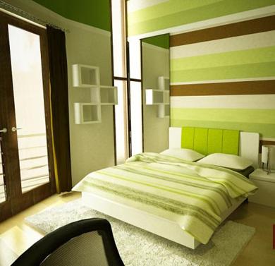 Home Interior Design Ideas Green Bedroom