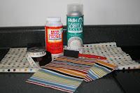 Welcome Decopaging Tin Buckets Great Storage Idea