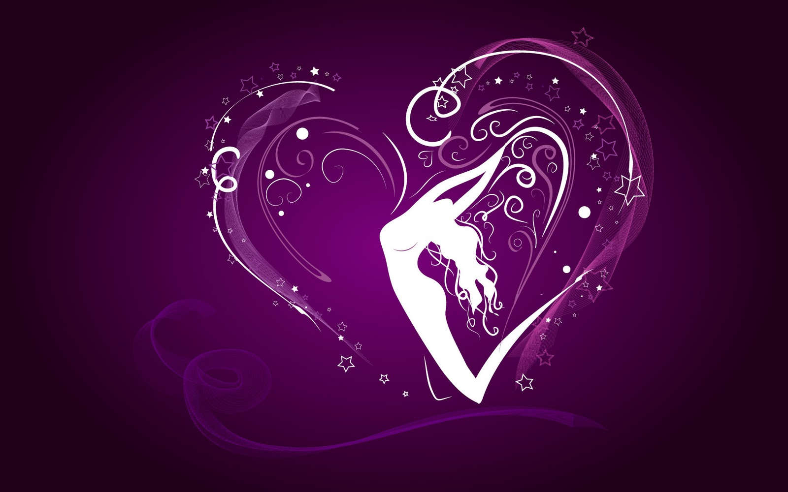Purple Love Wallpaper: Valentine Day Gift,images,pictures,photo,wallpaper